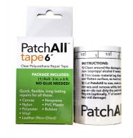 "PatchAll Vinyl Repair Tape, 3"" x 6' Roll"