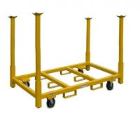 """Rolling Tables and Chair Storage Cart - 33"""" Legs"""