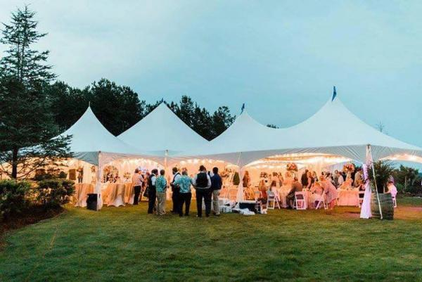 How to Keep a Wedding Tent Cool from Dawn to Dusk