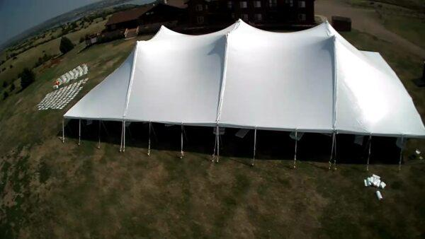 How to Set Up a Large Party Tent the Easy, Stress-Free Way