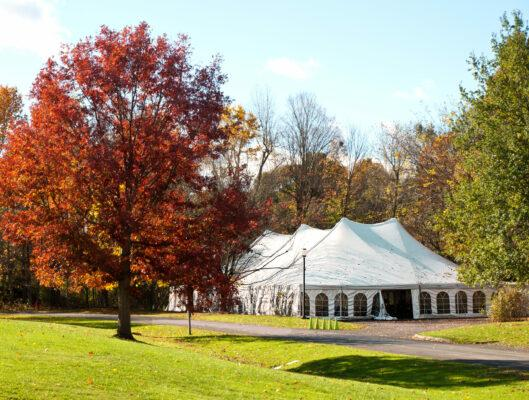 How to Keep a Party Tent Warm in Fall (and Winter, Too!)